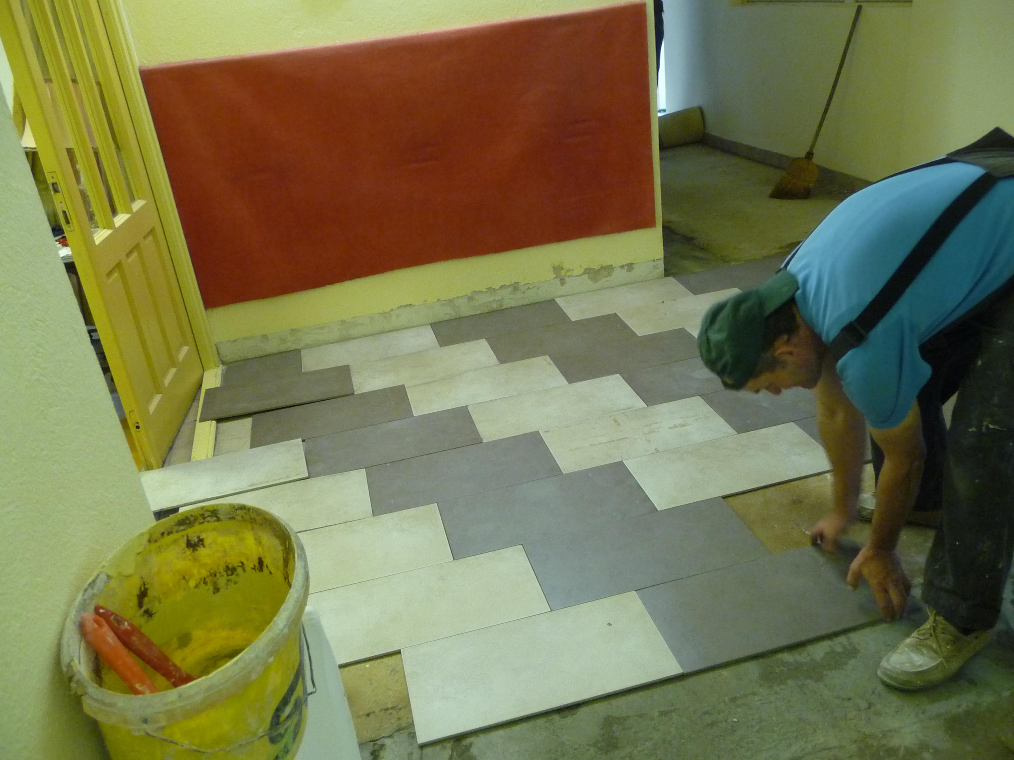 2 De nieuwe vloer